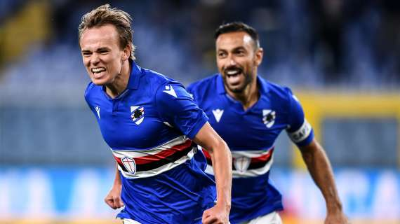 TRANSFERS - Sampdoria's Damsgaard gets lots of interest from top clubs