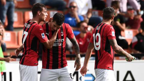 SERIE A - AC Milan, report on latest training session